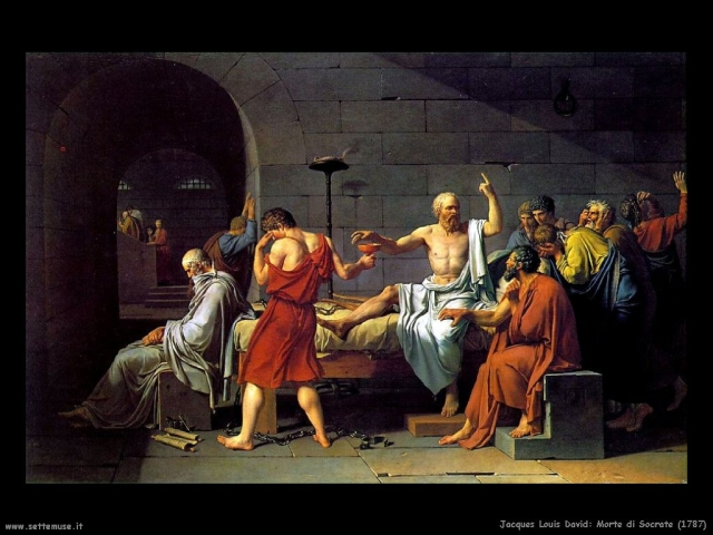 Jacques-Louis David, Morte di Socrate