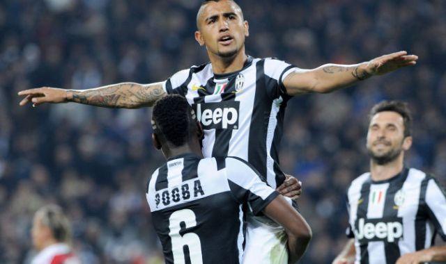 Vidal pogba Juventus Milan 2013